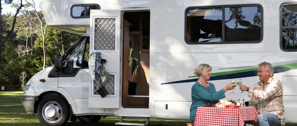 La conducción de una caravana por mujeres.
