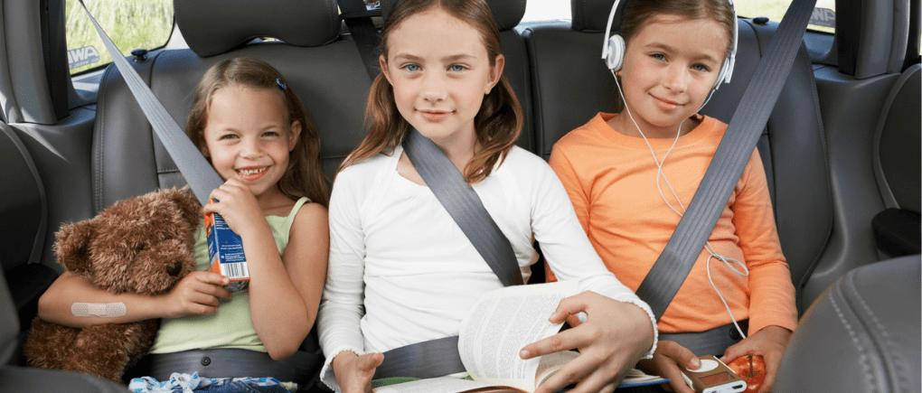 Conducir con niños