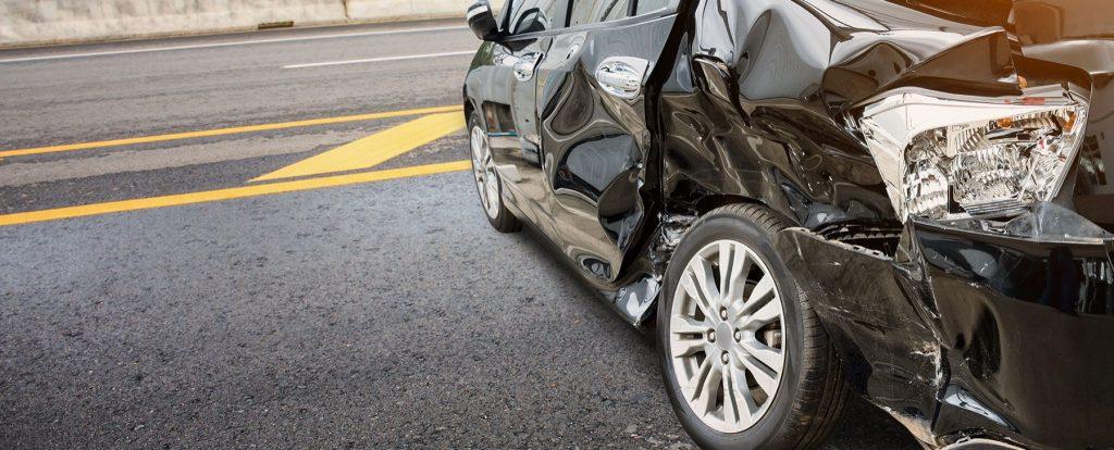 Siete lesiones por accidentes de autos